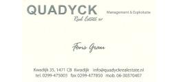 Real estate agent Kwadijk: Quadyck Real Estate BV