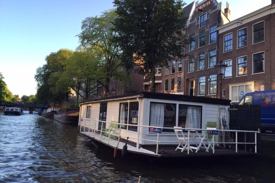 casa galleggiante in affitto prinsengracht amsterdam