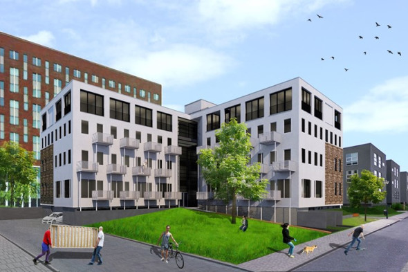 Studio te huur naritaweg 4 amsterdam voor 400 mnd for Studio omgeving amsterdam