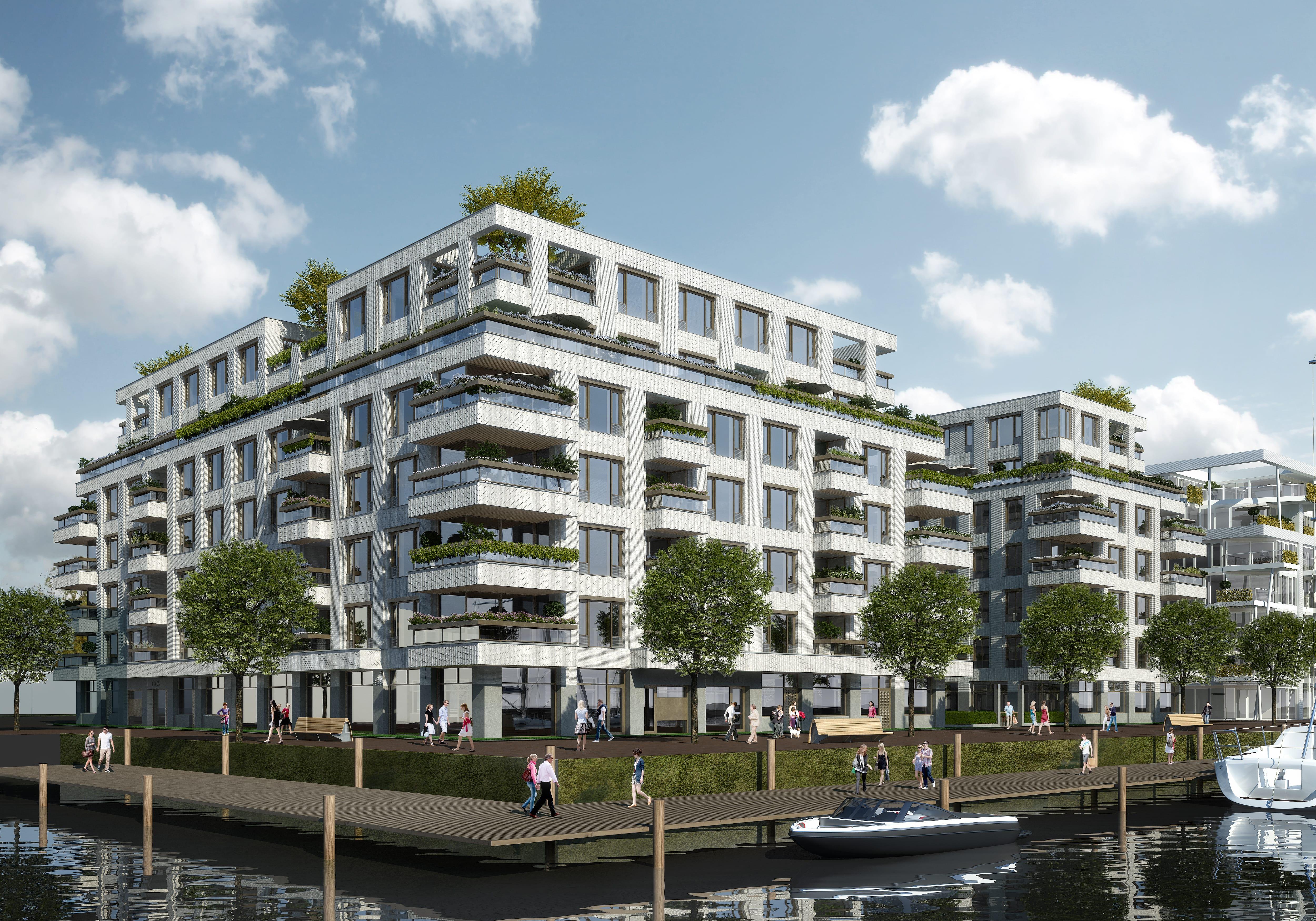 Property Development Header : Nieuwbouwproject cruquius in amsterdam