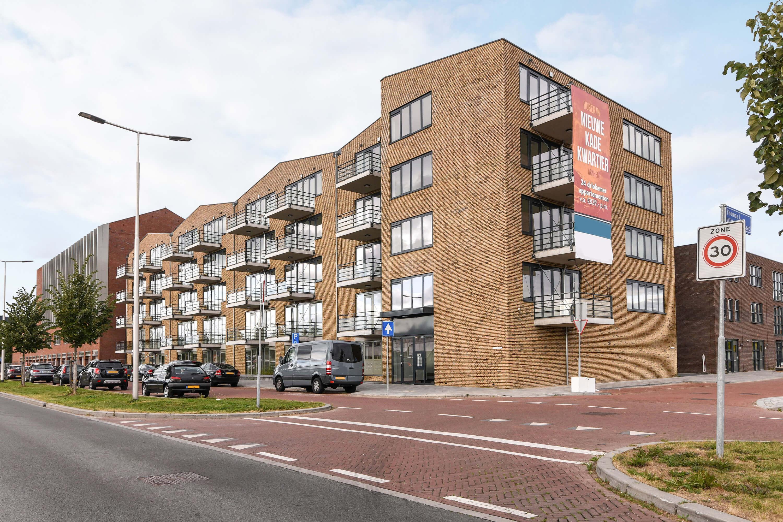 Property Development Header : Newly build complex nieuwe kade kwartier in arnhem